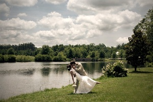photo of Featured Wedding: Jennifer and David