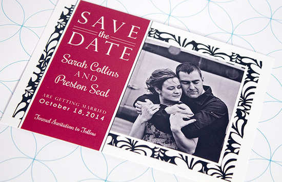 Sarah & Preston - Save the Date