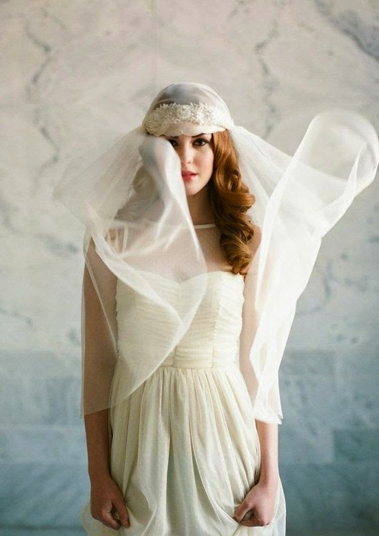Incredible Veil With White Dress