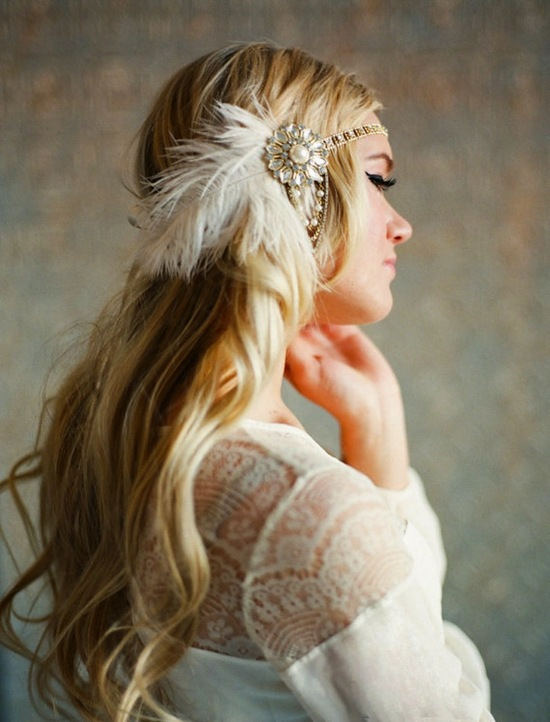 Feathers in the Hair