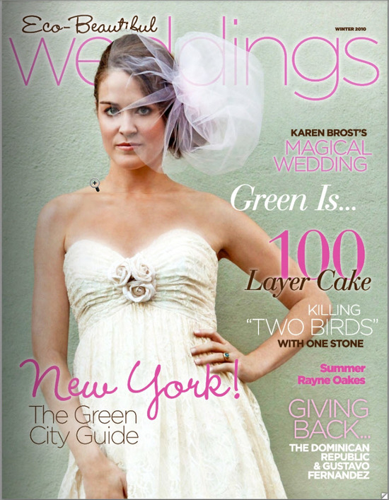 photo of For the Eco-Chic Green Bride--Check out Eco-Beautiful Weddings' New E-Magazine!