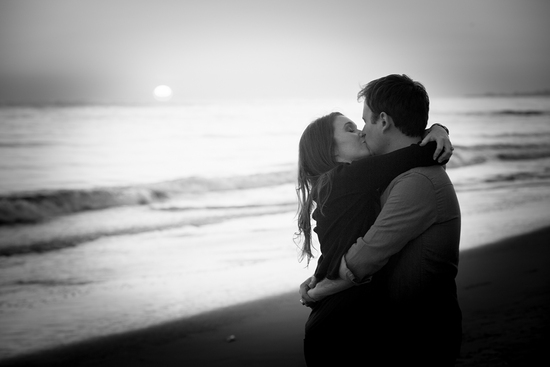 Santa Barbara Beach Engagement