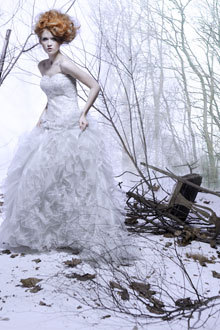 photo of Bride Chic: A Winter Wedding Fairytale