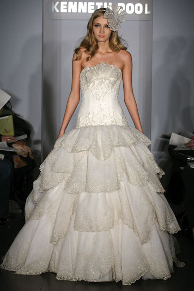 photo of Spring 2010 Bridal Runway: Kenneth Pool Wedding Dresses