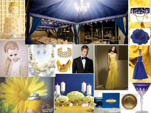 photo of Hot Hue of 2010: Cobalt Blue Wedding Inspiration!