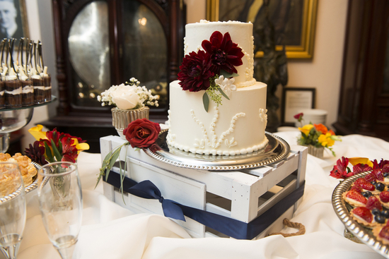 Small Stunning Wedding Cake