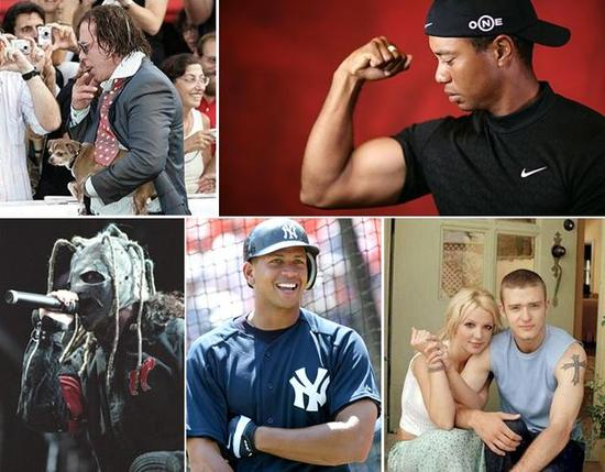 5 celebrity grooms that your parents may not approve of, including Tiger Woods and A-Rod