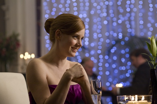 This still features Amy Adams in the movie Leap Year