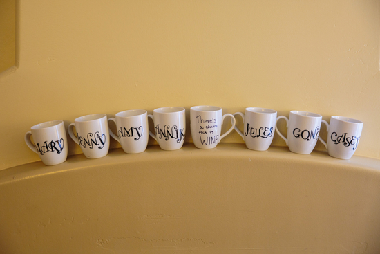 Bridesmaids mugs
