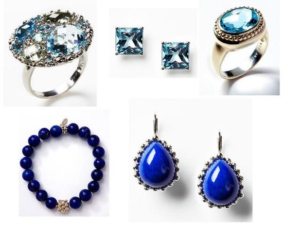 Get your something blue on Gilt.com- beautiful blue topaz fine jewelry