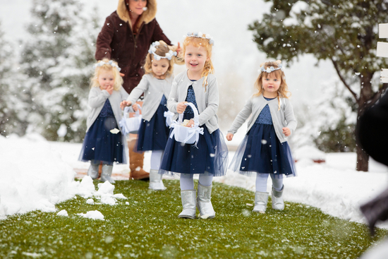 Adorable pack of Flower Girls