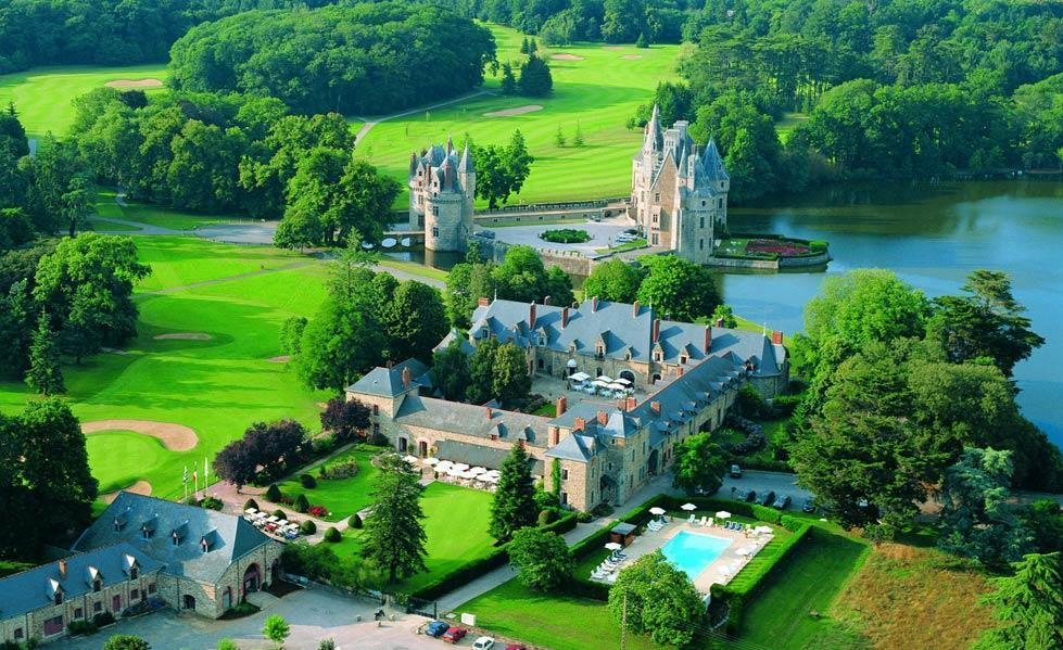 Beautiful 15th century French Chateau situated on acres of lush green rolling hills