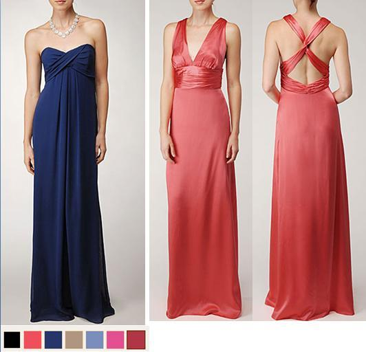 Bridesmaids-dresses-nicole-miller-midnight-navy-blue-strapless-coral-criss-cross-back.full
