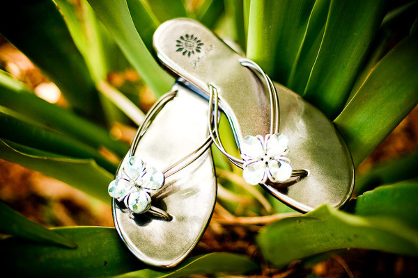 Bridal flats, not just for beach weddings! Perfect for brides seeking comfort!
