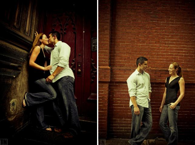 Tn-engagement-session-bride-groom-kiss-brick-wall-backdrop-casual.full