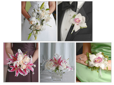 wedding flowers bridal bouquets corsages floral centerpieces