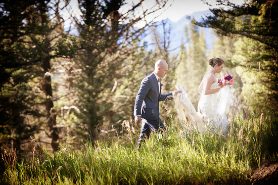photo of An Elegant Ranch Summer Wedding in Montana