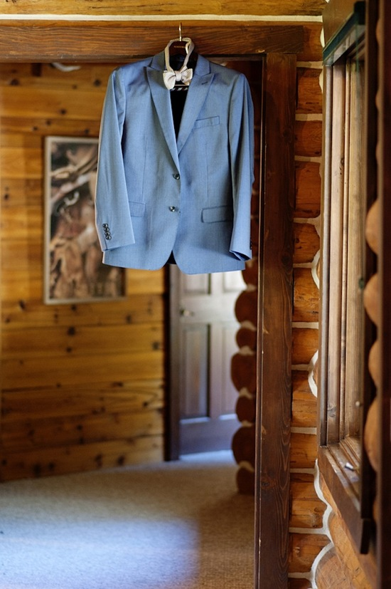 Hanging Suit in Cabin