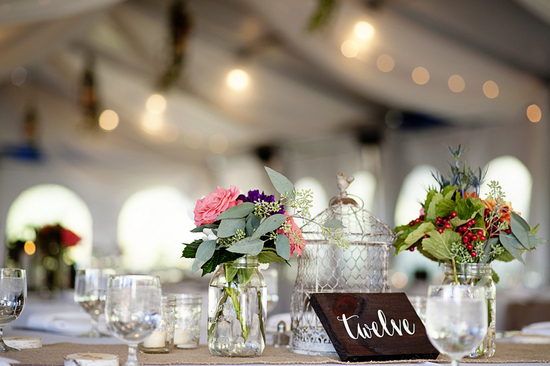 Table Settings in Tent