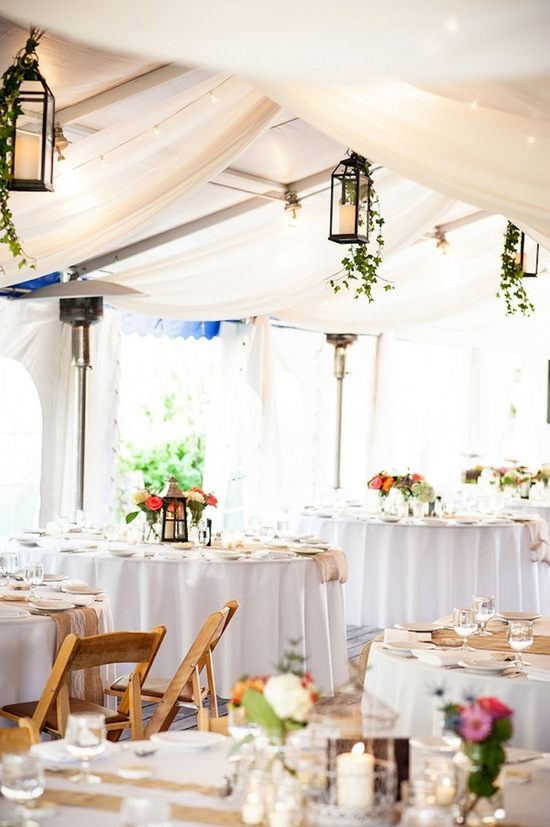 Gorgeous Tented Reception