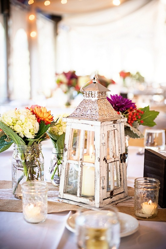 Lanterns on Tables