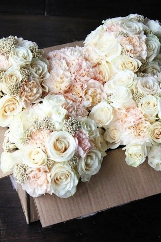 Blush and Gold Bouquet