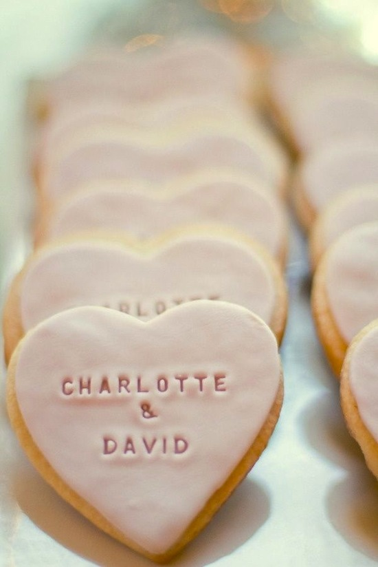 Blush Cookie Hearts