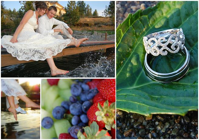 Blue-white-ivory-gold-green-outdoor-casual-wedding-in-mountains-diamond-wedding-bands-creek-vibrant-colorful-fruit.original