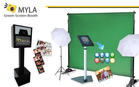MYLA PhotoBooth Green Screen