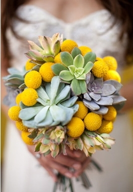 A-succulent-eco-friendly-bouquet-yellow-green-grey.full