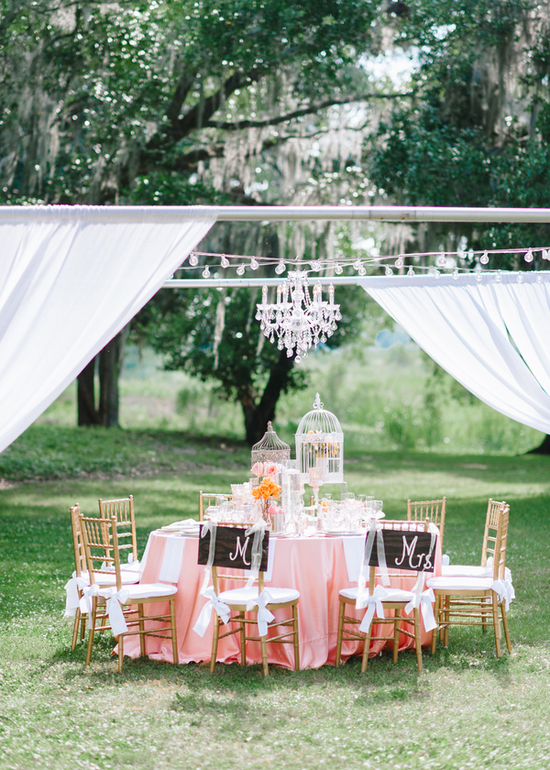 Beautiful Tented Reception