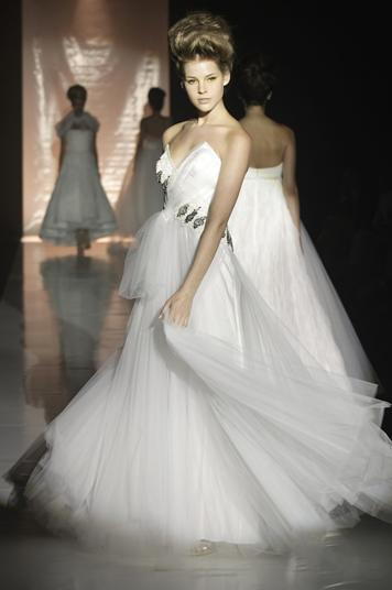 photo of Spring 2010 Bridal Runway: David Fielden Wedding Dresses