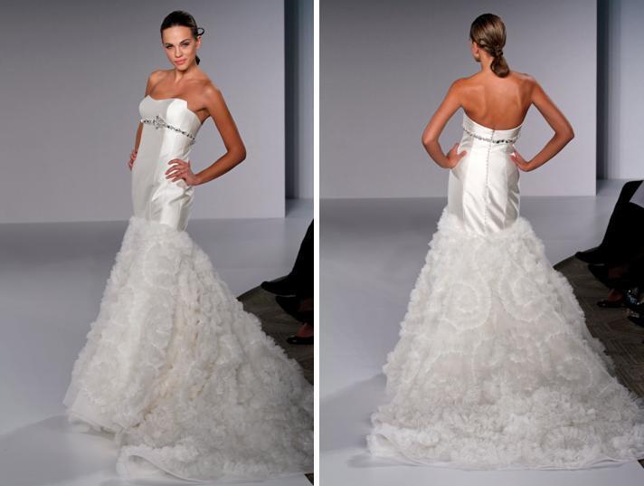 Platinum-priscilla-of-boston-spring-2010-wedding-dreses-pl303-strapless-pinwheel-feather-ruffle-skirt-rhinestone-band-under-bust.full