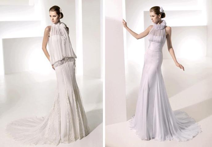 Manual-mota-spring-2010-wedding-dresses-telma-tatiana-turtle-neck-drop-waist-ruffle-and-lace-detail-silver-embroidery.full