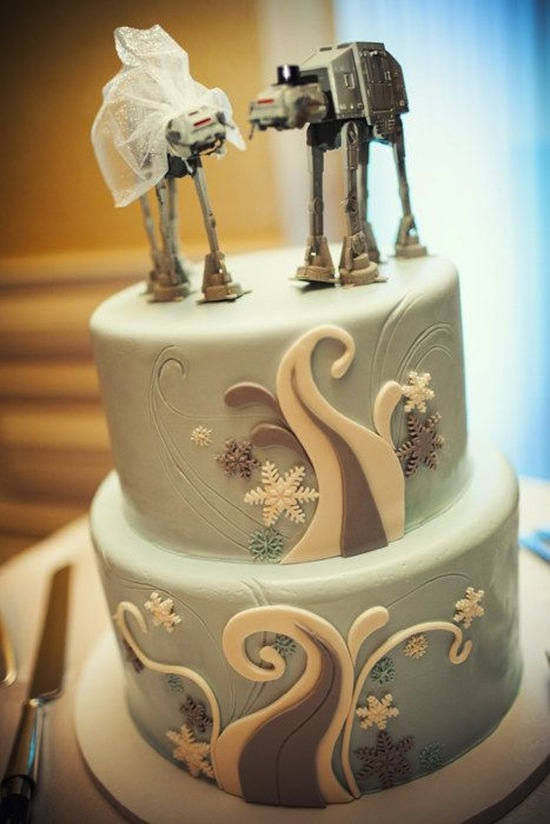 Star Wars Wedding Topper
