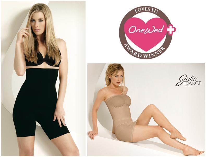 Julie France body shapers to wear under your wedding dress on your big day!