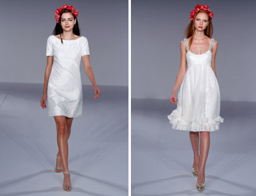 photo of Spring 2010 Bridal Runway: Reverie by Melissa Sweet Wedding Dresses