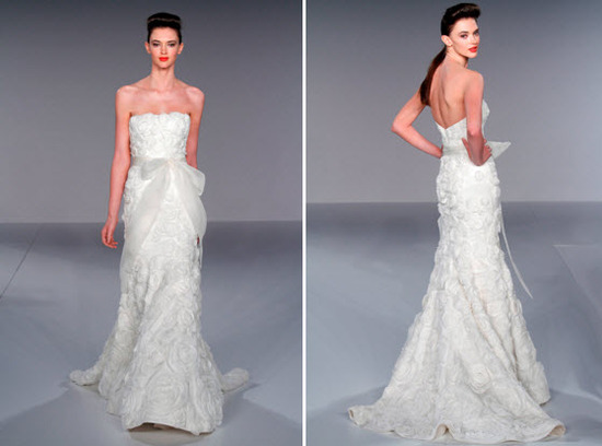 photo of Spring 2010 Bridal Runway: Melissa Sweet Wedding & Bridesmaid Dresses