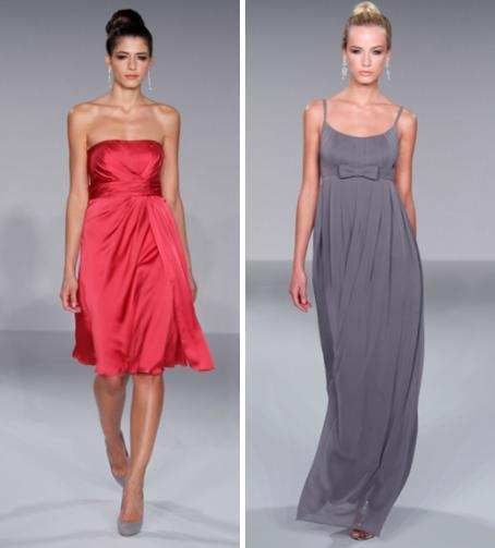 Priscilla-of-boston-bridesmaids-dresess-spring-2010-1608-1605-knee-length-rasberry-red-strapless-satin-full-length-pewter-grey-with-bow-at-empire-waist.full
