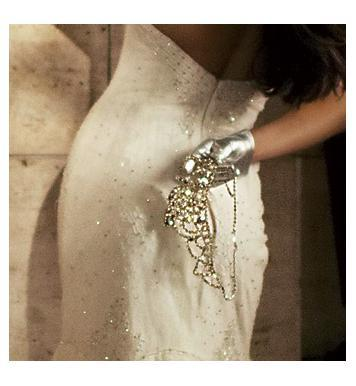 Glove-chic-modern-short-silver-metallic-gloves-bridal-fashion.full