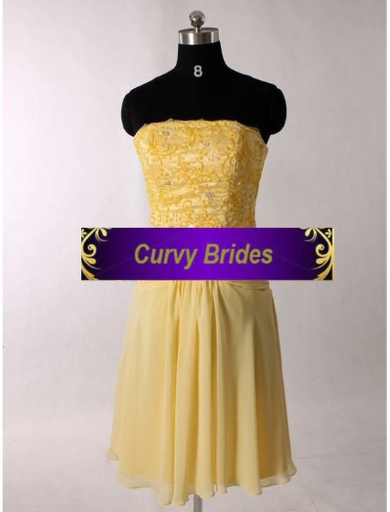chiffon-strapless-sheath-cocktail-dress-with-broach-detail-ruched-waistline