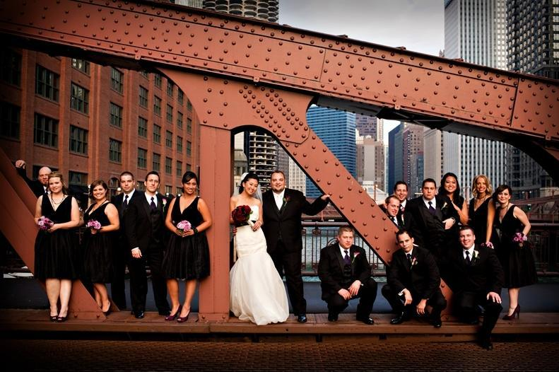 Chicago-wedding-photo-ops-bridge-chicago-river-skyline.full