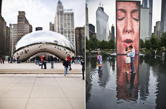 Amazing photo opportunities in Chicago's Millenium Park