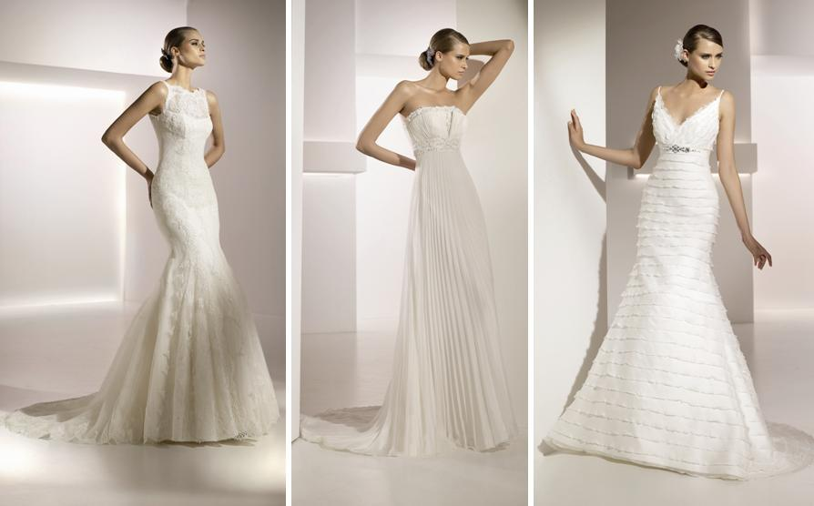 All Lace Wedding Dress With Boat Neck And Mermaid Skirt From Pronovias