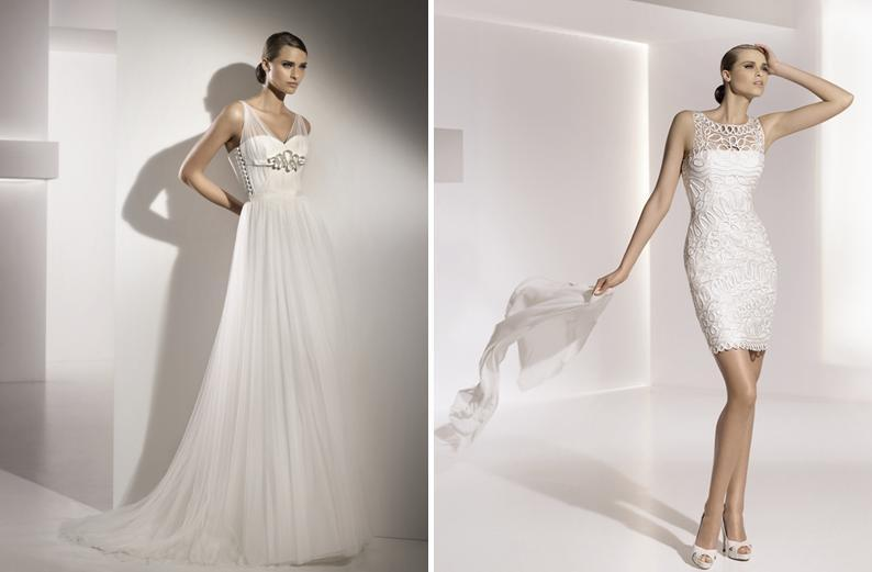 Moscatel-glass-pronovias-spring-2010-wedding-dresses-short-reception-dress-silver-details-illusion-straps.full