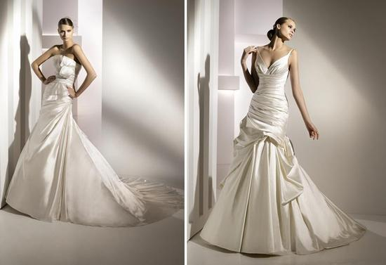 Stunning Spring 2010 wedding dresses from Pronovias