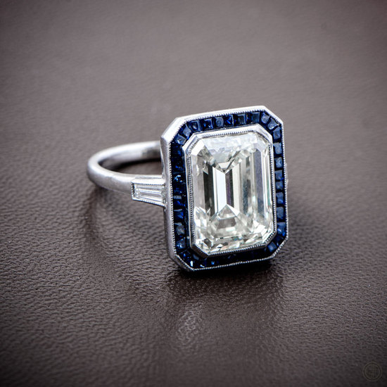 Diamond-and-Sapphire-Art-Deco-Style-Engagement-Ring-10362-Artistic-View-4