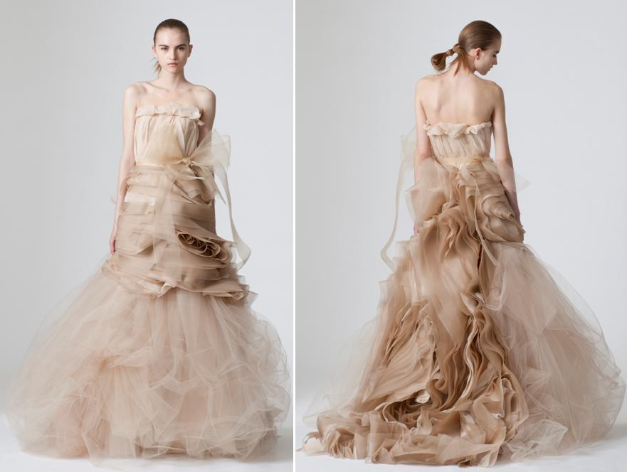 Vera-wang-spring-2010-wedding-dresses-cocoa-taupe-color-strapless-tulle-intricate-rose-like-fabric-design.full