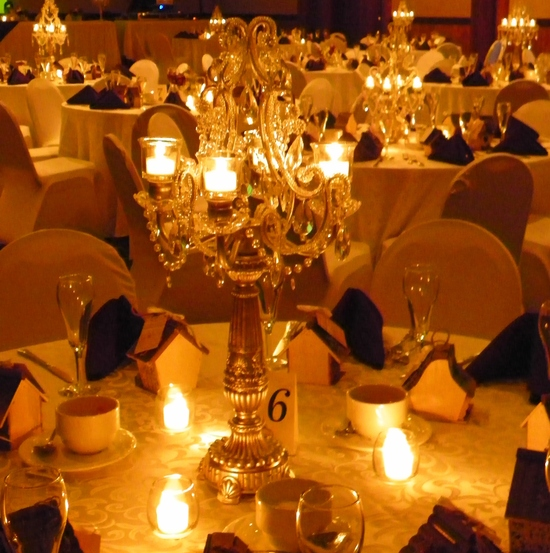 photo of Elegant Event Settings - Vintage Rentals, China & Wedding Decor