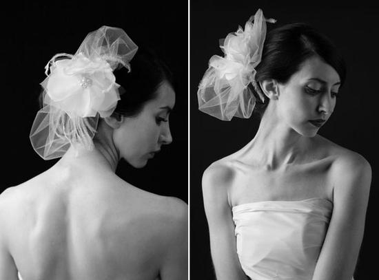photo of Fresh. Adored. Couture.... Sara Gabriel Veils and Bridal Headpieces